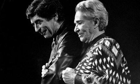 Joaquín Sabina y Chavela Vargas (Pinterest)